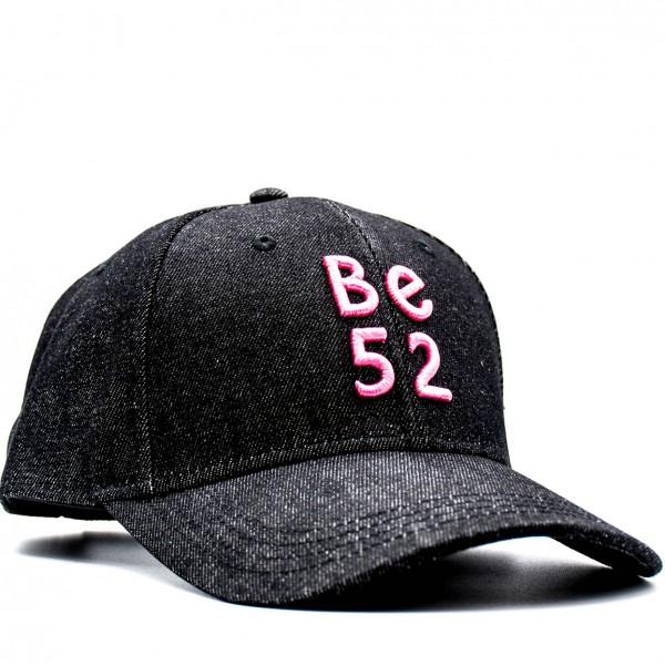 Šiltovka BE52 Jeans Cap black/pink