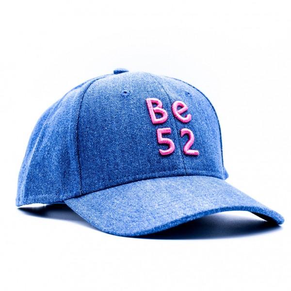 Šiltovka BE52 Jeans Cap blue/pink