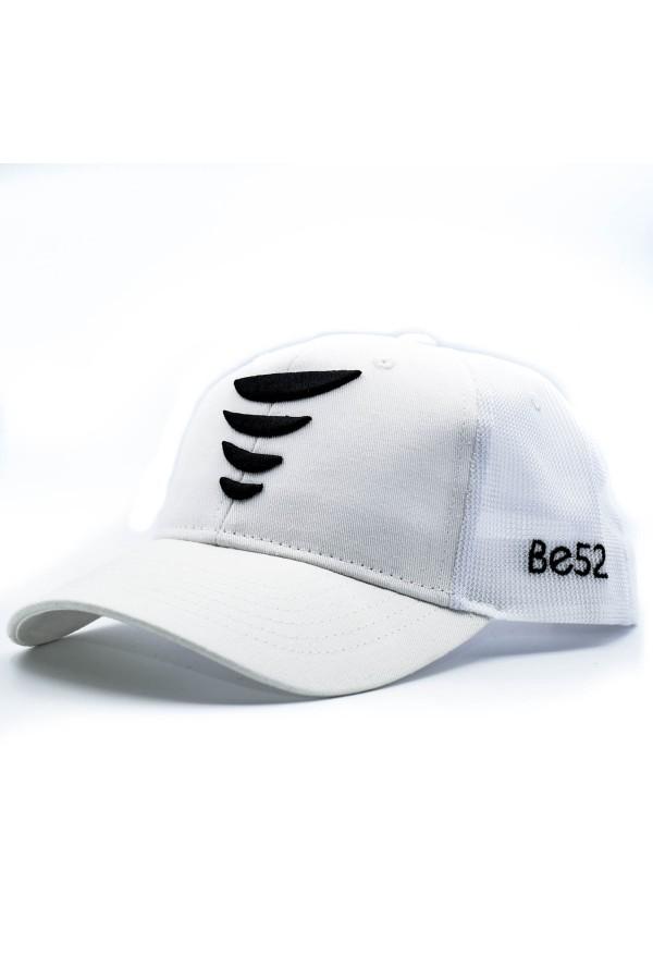 Šiltovka BE52 Tornado white