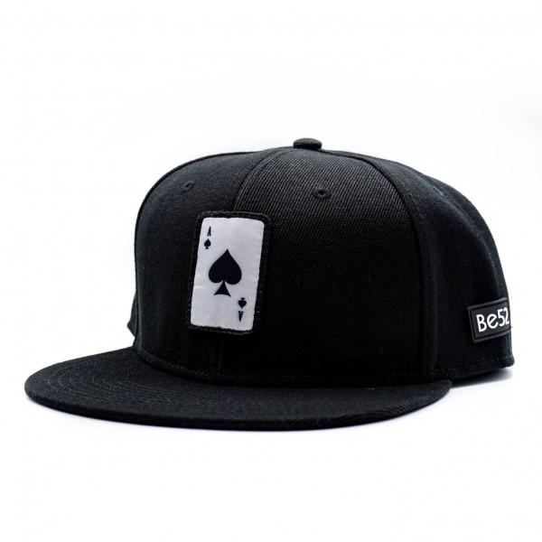 Šiltovka BE52 Ace Snapback black