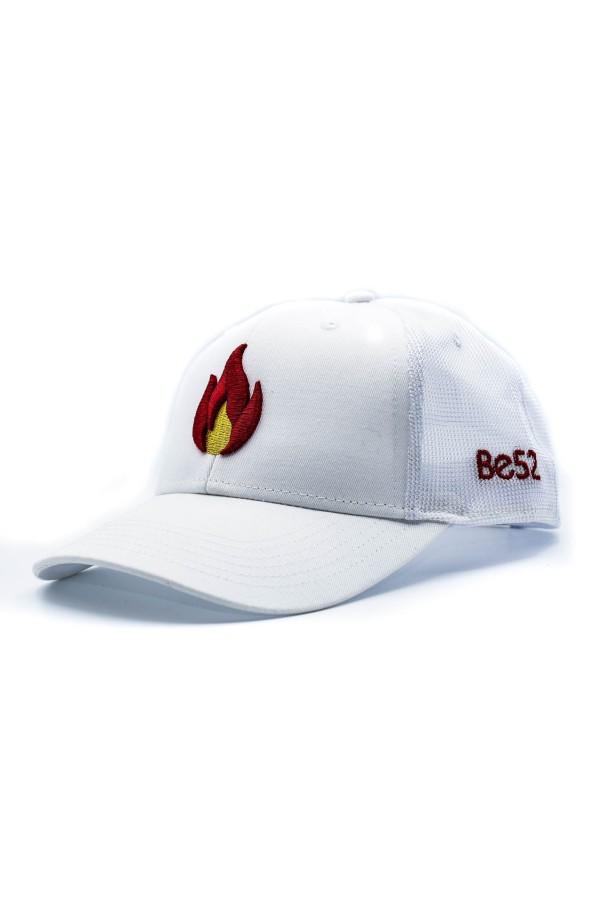 Šiltovka BE52 Flame Cap white