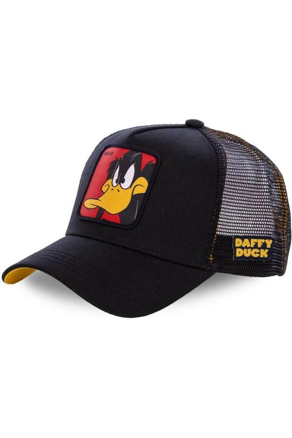 Šiltovka CAPSLAB Looney Tunes Daffy Duck black