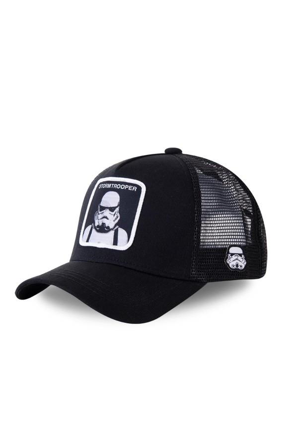 Šiltovka CAPSLAB Star Wars Stormtrooper trucker black