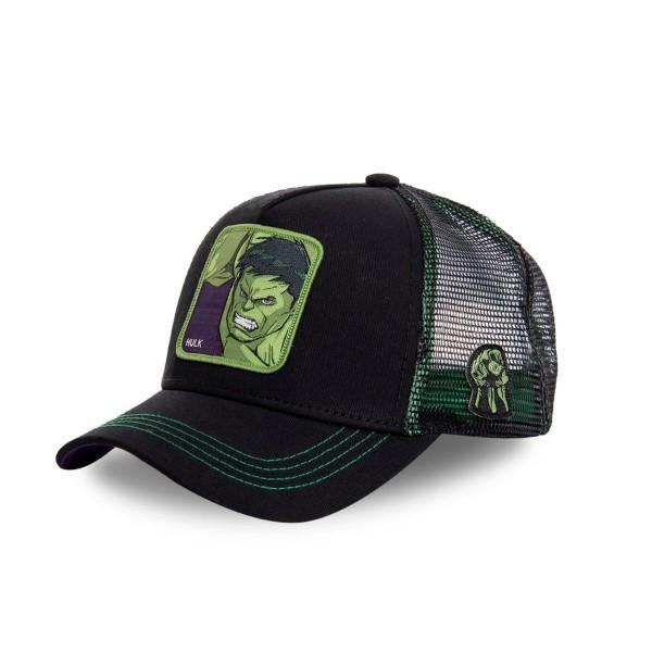 Šiltovka CAPSLAB Marvel Hulk black