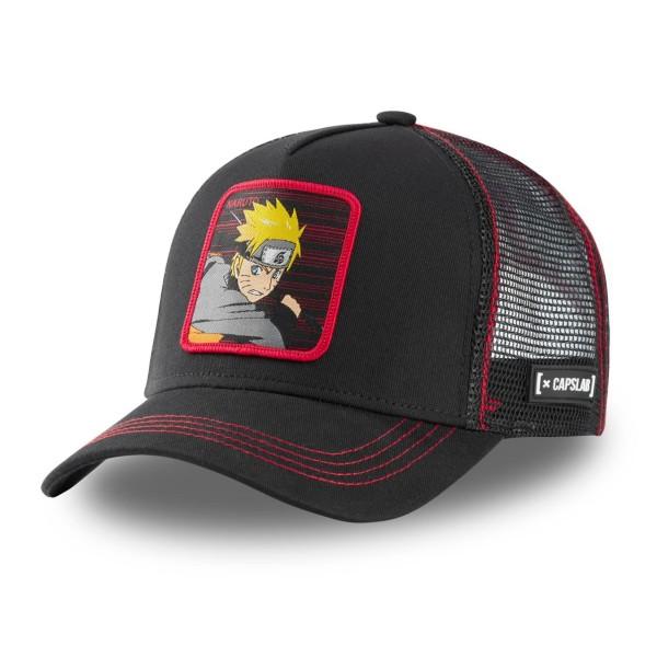 Šiltovka CAPSLAB Naruto black/red