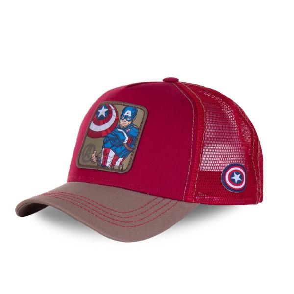 Šiltovka CAPSLAB Marvel Captain America red