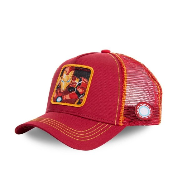 Šiltovka CAPSLAB Marvel Ironman red