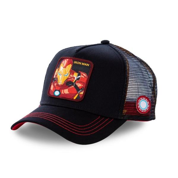 Šiltovka CAPSLAB Marvel Ironman black