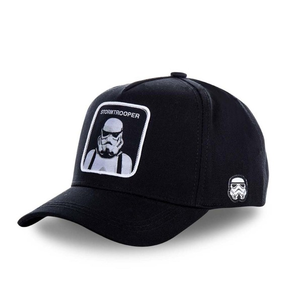 Šiltovka CAPSLAB Star Wars Stormtrooper black