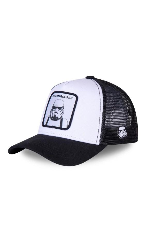 Šiltovka CAPSLAB Star Wars Stormtrooper white/black