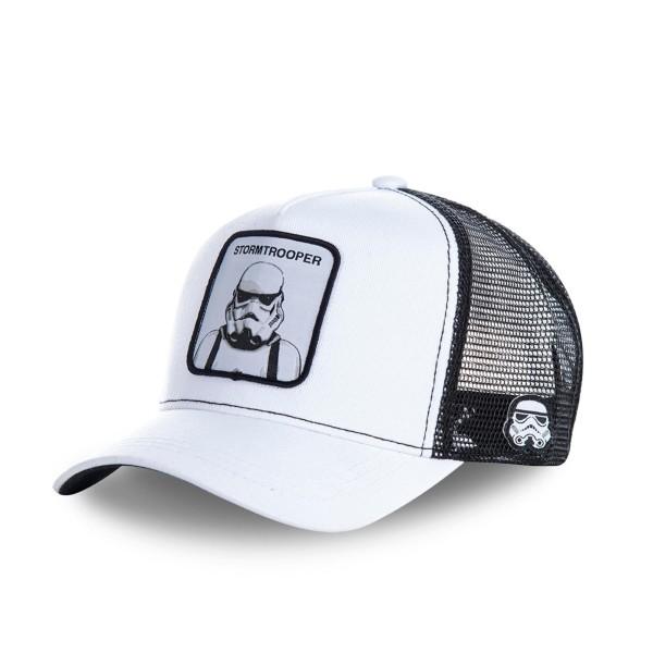 Šiltovka CAPSLAB Star Wars Stormtrooper white