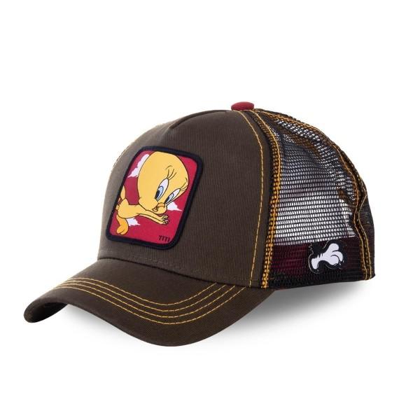 Šiltovka CAPSLAB Looney Tunes Tweety brown/red