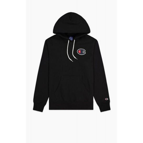 Mikina CHAMPION Rochester C-Logo Hoodie black