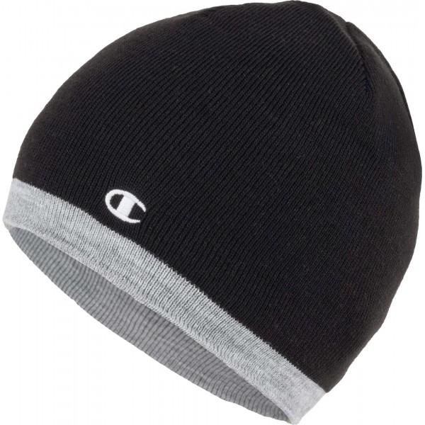 Zimná čiapka CHAMPION Reversible Beanie black