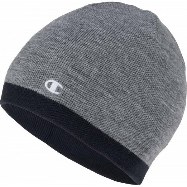Zimná čiapka CHAMPION Reversible Beanie grey