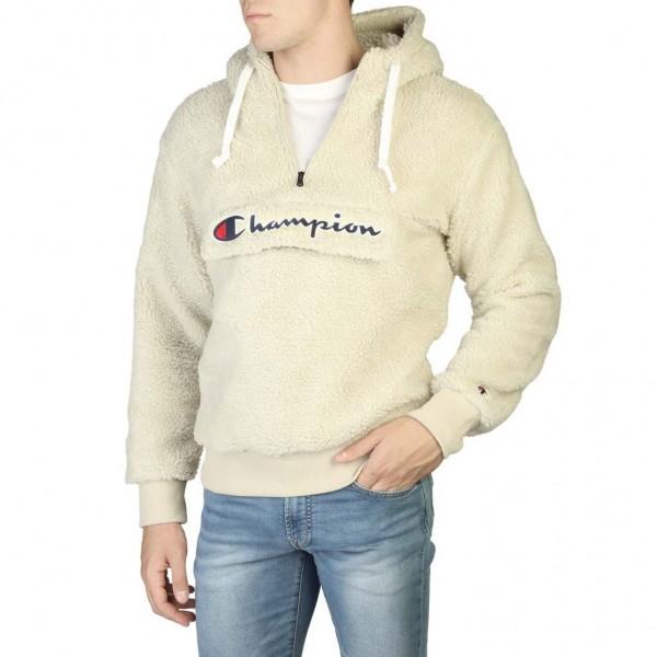 Mikina CHAMPION Half Zip Hooded white