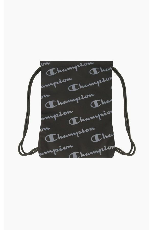 Batoh CHAMPION Allscript Logo Gymsack 15l black