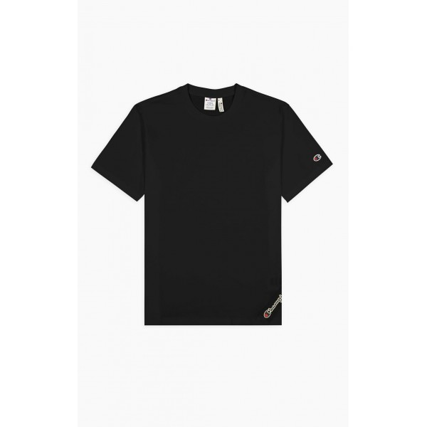 Tričko CHAMPION Rochester Asymetric Organic black