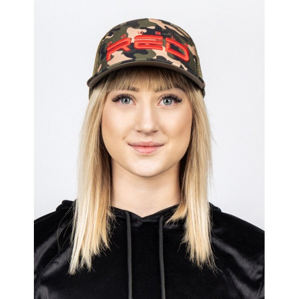 Šiltovka DOUBLE RED Rapid Camodress cap