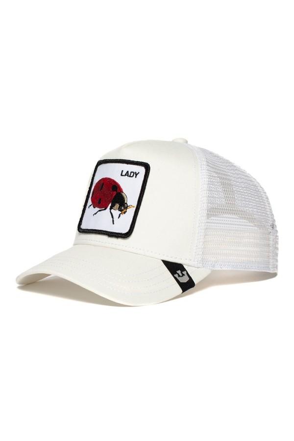 Šiltovka GOORIN BROS. Ladybird white