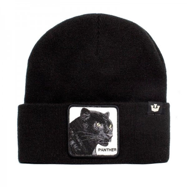 Zimná čiapka GOORIN BROS. Panther black