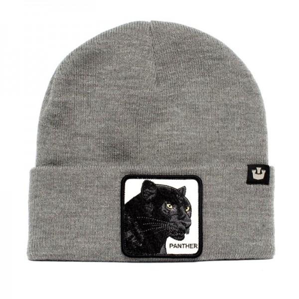 Zimná čiapka GOORIN BROS. Panther grey