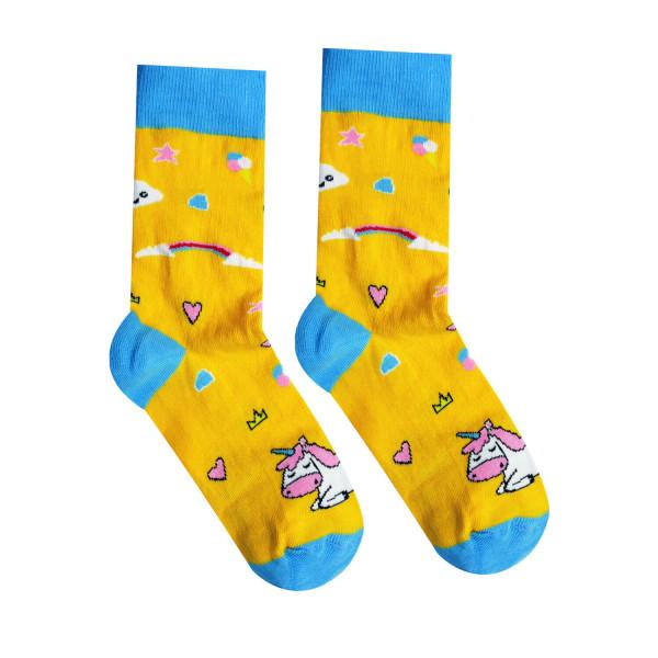 Ponožky HESTY Socks Jednorožec