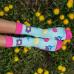 Ponožky HESTY Socks Jarný kvet