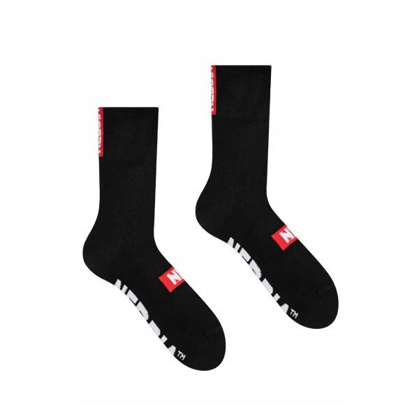 Ponožky NEBBIA Extra Mile black