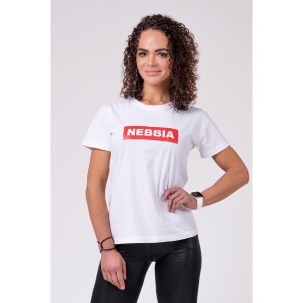 Tričko NEBBIA white