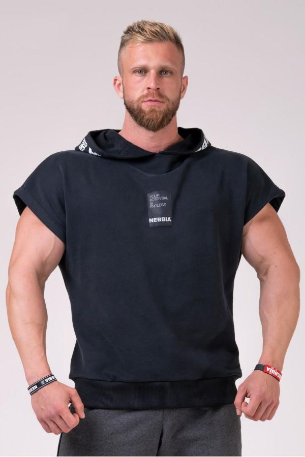 Tričko NEBBIA No Limits Rag black