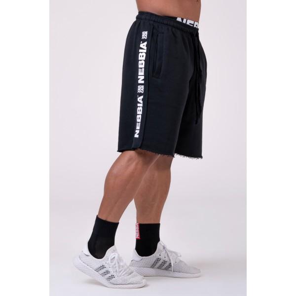 Kraťasy NEBBIA Essential Shorts black