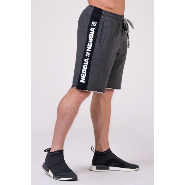Kraťasy NEBBIA Essential Shorts grey