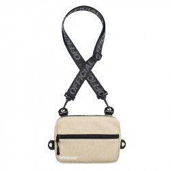 Taška OFFICIAL Neck Utility Back beige
