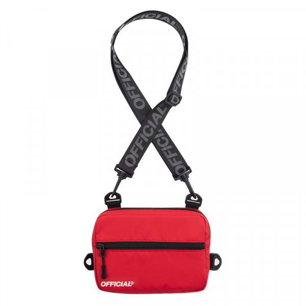 Taška OFFICIAL Neck Utility Back red