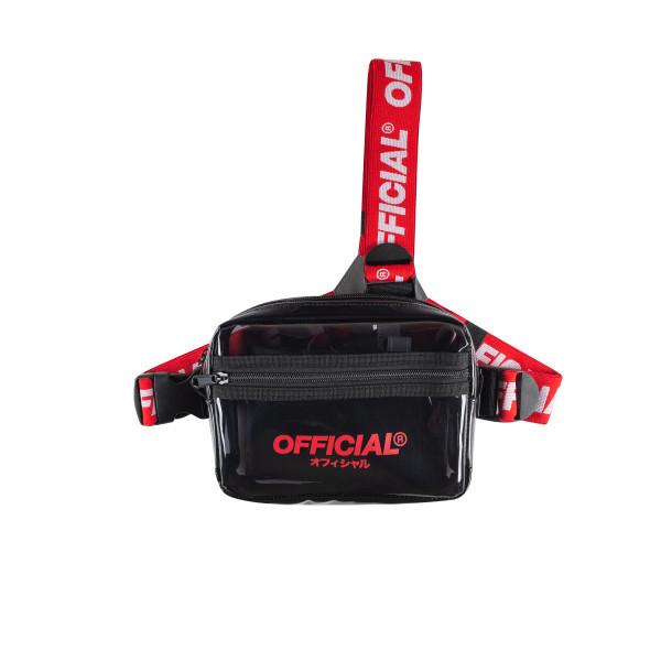 Taška OFFICIAL Translucent Tri-Strap black/red