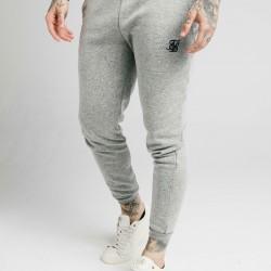 Tepláky SIK SILK Elastic Jacquard grey