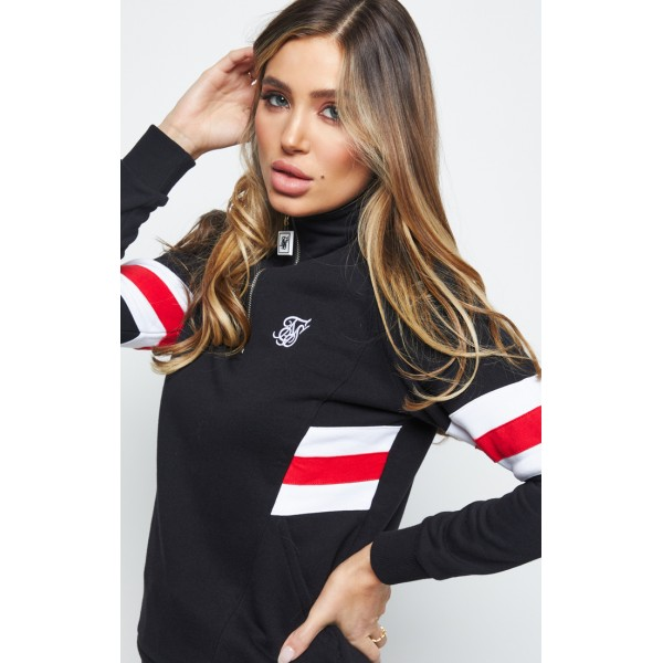 Mikina SIK SILK Sports Luxe Track Top