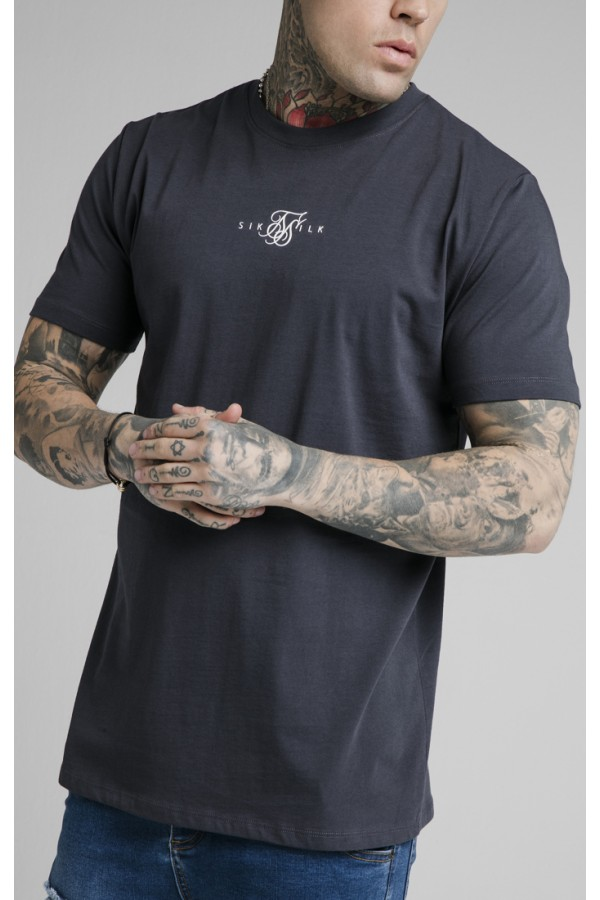 Tričko SIK SILK Core Basic Tee navy