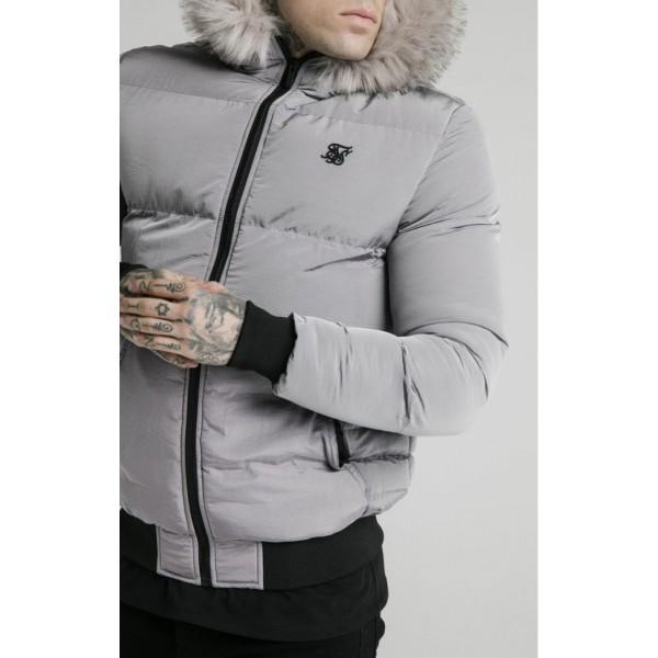 Bunda SIK SILK Distance Jacket grey