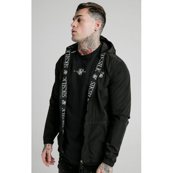 Bunda SIK SILK Windbreaker Jacket black