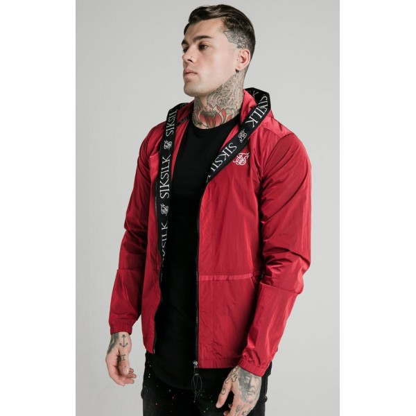 Bunda SIK SILK Windbreaker Jacket red