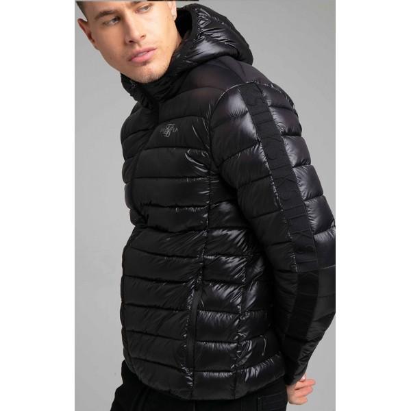 Bunda SIK SILK Light Bubble Jacket black