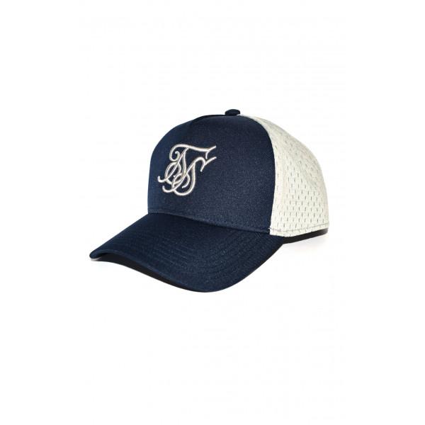 Šiltovka SIK SILK Foam Trucker Cap blue/grey
