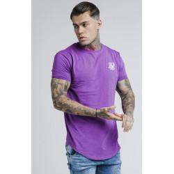 Tričko SIK SILK Short Sleeve Gym Tee purple