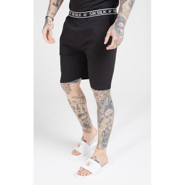 Kraťasy SIKSILK Jersey Shorts black