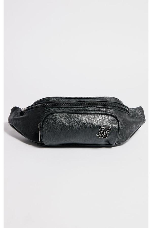 Taška Sik Silk Taped Strap BumBag black
