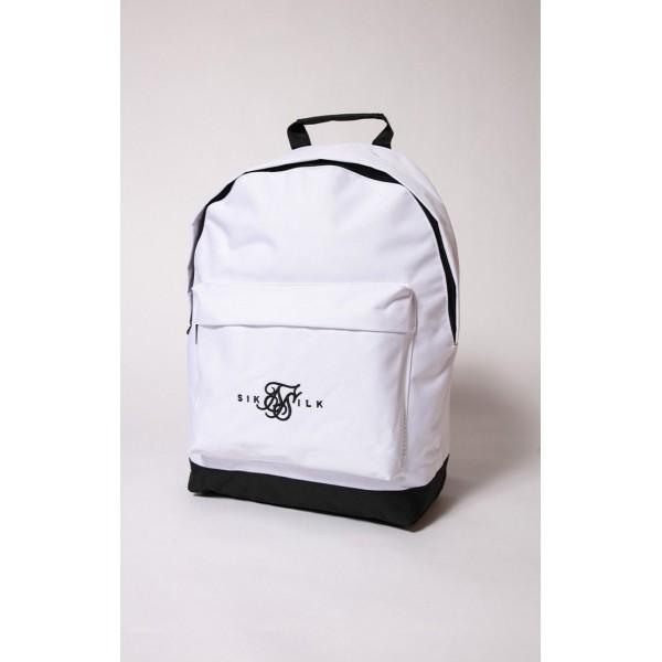 Batoh Sik Silk Dual Logo Backpack white