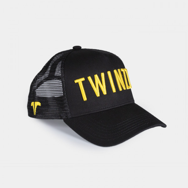Šiltovka TWINZZ 3D Mesh Trucker black/yellow