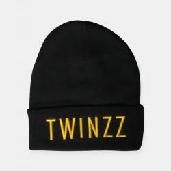 Čiapka TWINZZ 3D Beanie black/yellow